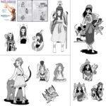 ベリーダンス・ジャパン|連載企画用イラスト